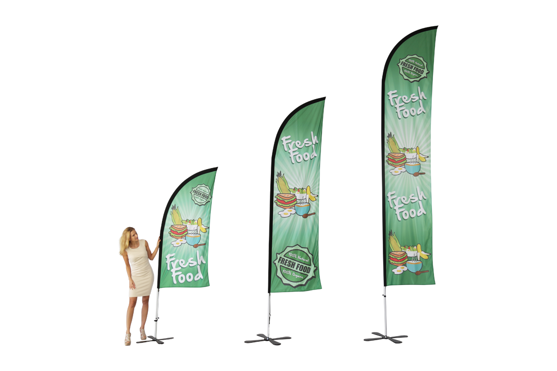 Freestanding Flags