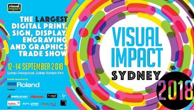 Visit us at Visual impact Sydney September 12-14